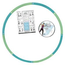Empower™ Cardio Core & More 3Lb Weighted Hoop Blue Green Tar