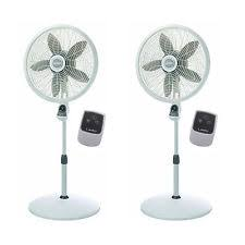 Lasko Table Fan With Remote by Lasko Portable Oscillating 18 Inch Pedestal Fan Air Cooling Stand