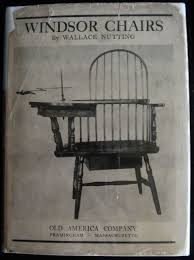 100 Rocking Chair With Books WINDSOR CHAIRS By Wallace Nutting 1917 First Edition A Windsor