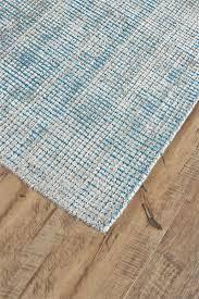 Feizy Landon Collection 8088F Aqua Blue Area Rug