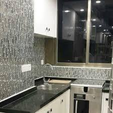Popular Metal Tile Backsplash — The Homy Design