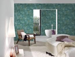 walls tapete uni blau gelb grün 375321