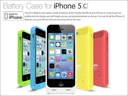 Newest Extended Battery Case Charger Cover For Apple iPhone 5C