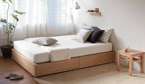 How To Build A King Platform Bed With Drawers by Muji Online Welcome To The Muji Online Store