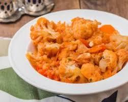 cuisiner le choux fleur recette de ragoût ultralight de chou fleur carottes et paprika
