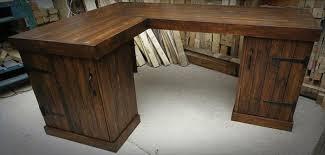 Outstanding Reclaimed Wood L Shaped Desk Stuff To Buy Pinterest