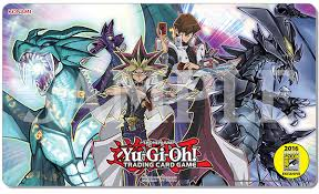 Eye Of Timaeus Deck 2016 by Sdcc 2016 Comic Con Exclusive Playmat Yugi Kaiba Timaeus And
