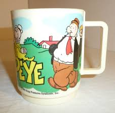 Berenstain Bears Christmas Tree 1979 by Details About Vintage 1979 Popeye Deka Plastic Mug Child U0027s Cup