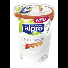 alpro soja joghurt natur ungesüßt 2 3 fett 500 g becher