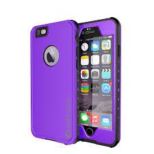 PUNKcase StudStar Purple Apple iPhone 6S Plus 6 Plus Waterproof Case