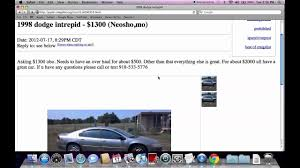 Craigslist Joplin Missouri Used Cars And Trucks - For Sale By Owner ...