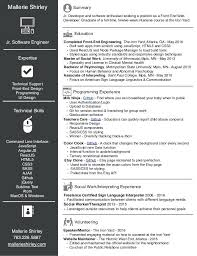 Website Developer Resume Example Web