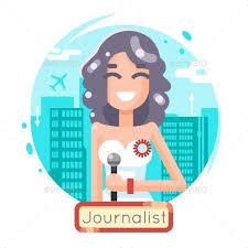 News Reporting Journalist Reporter Female Girl