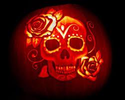 Sugar Skull Pumpkin Carving Patterns by Dia De Los Muertos Pumpkin Carving Template Dia De Los Muertos Jpg
