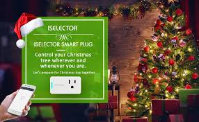 Christmas Tree Amazon Local by Iselector Mini Smart Plug 2 Pack Wi Fi Control Your Electric
