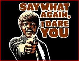 SAYWHAT IDARE YOU Jules Winnfield Text Music