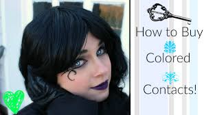 Theatrical Contacts No Prescription by Where To Buy Colored Contacts For Cosplay Halloween Costumes