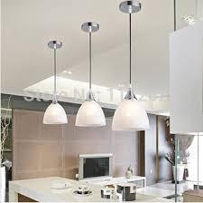 eclairage bar cuisine moderne blanc panaché verre ombre e27 unique led pendentif