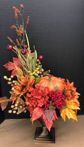 Fake Carvable Pumpkins by Best 25 Pumpkin Arrangements Ideas On Pinterest Pumpkin Floral