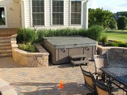 Backyard Hot Tub Parts | Home Outdoor Decoration Awesome Hot Tub Install With A Stone Surround This Is Amazing Pergola 578c3633ba80bc159e41127920f0e6 Backyard Hot Tubs Tub Landscaping For The Beginner On Budget Tubs Exciting Deck Designs With Style Kids Room New In Outdoor Living Areas Eertainment Area Pictures Best 25 Small Backyard Pools Ideas Pinterest Round Shape White Interior Color Patios And Decks Fire Pit Simple Sarashaldaperformancecom Wonderful Pergola In Portland