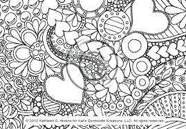 Free Printable Doodle Art Patterns Lets Coloring Pages Bookmarks Full Size