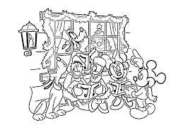 Dibujos Para Colorear Disney Navidad II Dibujos Para Cortar Y