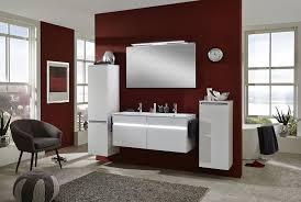 modernes bad in seidenglanz weiß bad badezimmer design