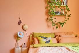 farbfreude schlaf arbeitszimmer in koralle kolorat