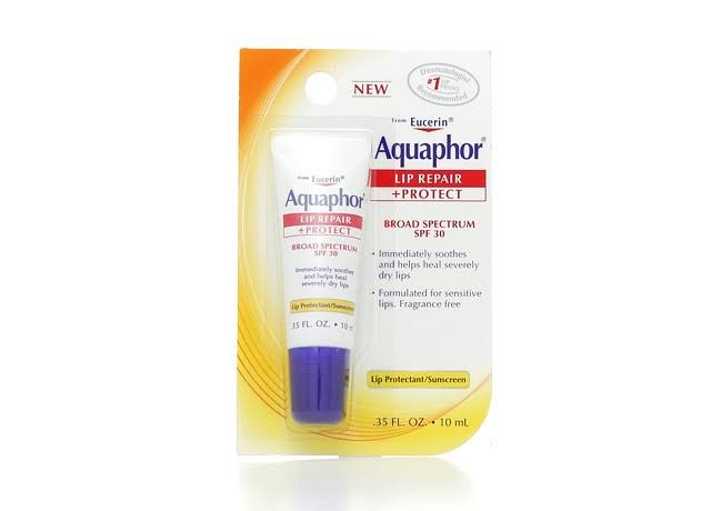 Aquaphor Lip Protectant + Sunscreen - Broad Spectrum SPF 30, 0.35oz