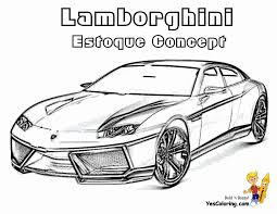 Unusual Ideas Design Lamborghini Coloring Pages Rich Relentless Cars