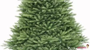 Noble Fir Unlit Artificial Christmas Tree by Best National Tree 7 5 Foot Dunhill Fir Tree Hinged Reviews Youtube
