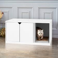 best cat litter boxes cat litter box in espresso eco friendly way basics