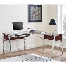 Modern Computer Desk L Shaped by Desks L Shaped Desk Walmart Glass L Shaped Desk Amazon Glass