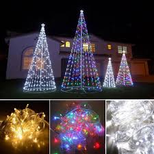 backyards outdoor christmas decorations winter lane set