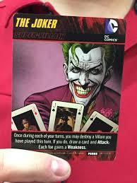 dc comics deck building game heroes unite tournament near denver