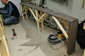 Narrow Sofa Table Diy by Console Tables Amazing Lovely Pneumatic Addict Butcher Block
