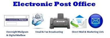 Wel e to theElectronic Post fice Corporation Electronic Post
