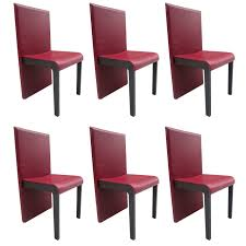 Six Leather Dining Chairs By Poltrona Frau For Sale At 1stdibs Ding Room Chair Soho Lowest Price Of Netherlands Wiegers Xl Leather Cognac Diamond Shipped Within 24 Hours Stools Upholstered Chairs Black Sold Set 4 Red Or Game Table Signed Urban Style With Solid Wood Legs 1950s Mel Smilow Woven Chairish Malin American Walnut Fabric Seat New Offer And Comfort White With Cool Design High Side Fniture Thomasville 13 Best In 2018 Arm Blue Round Back