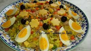 cuisine salade de riz salade de riz aux 3 poivrons tunisme