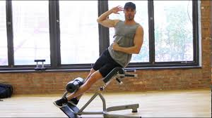 obliques roman chair side bend youtube