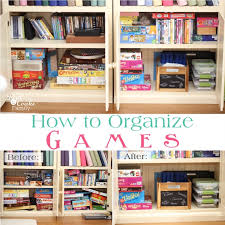 How To Organize Your Games With Tips And Ideas For Small Spaces