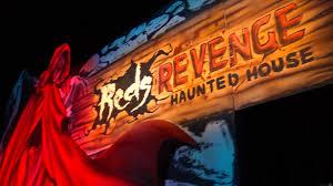 Great America Halloween Haunt Hours by Red U0027s Revenge Haunted House Maze Walkthrough Fright Fest Six Flags