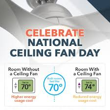 Ceiling Fan Counterclockwise In Winter by National Ceiling Fan Day The Spin