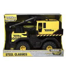 Amazon.com: Tonka Classic Steel Crane Vehicle: Toys & Games