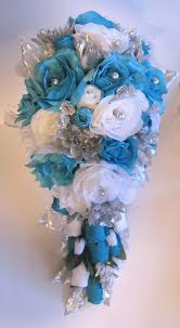 Turquoise Wedding Bouquet Ideas Interesting Royal Purple And