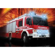 100 Fire Truck Wallpaper Mural No 2242 Nonwoven Or Paper Cars Wallpaper Firefighter Firetruck