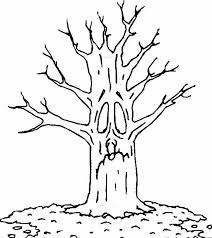 18 Autumn Tree Coloring Pages