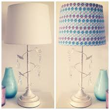 DIY Fabric Lampshade Cover