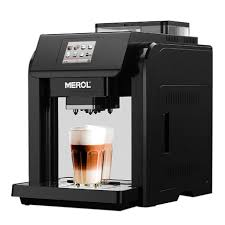 Merol ME 717 Coffee Machine Fully Automatic One Button Small Grinder