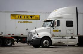 100 Largest Trucking Companies Trucker JB Hunt Will Add To Fleet In 2017 WSJ